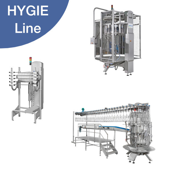 Hygie : A new range with increased cleanability